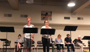 "Morgan Mastrangelo (Aidan) and Rozi Baker (Taylor) sing ""Nothing That Cannot Be Fixed"""